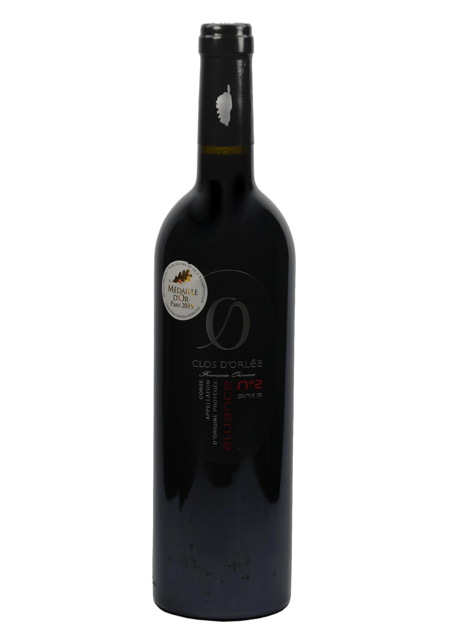 Les vins du Clos d'Orléa
