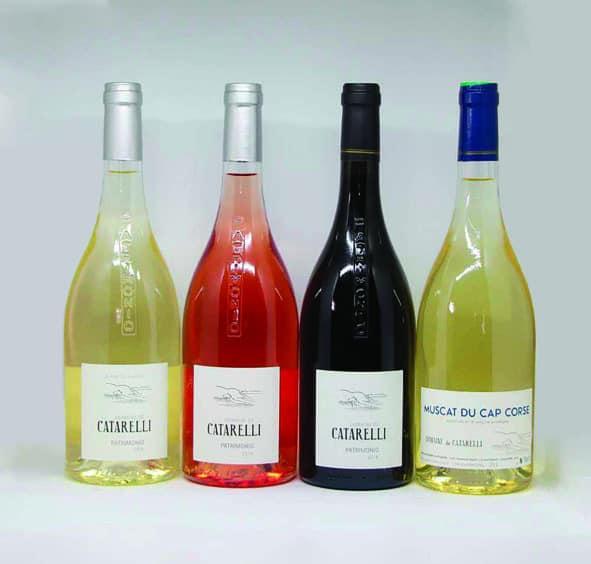 Les vins du Domaine de Catarelli