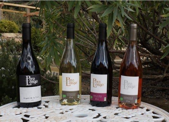 Les vins du Domaine Pero Longo